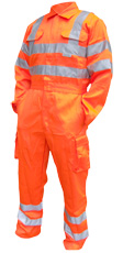 BE SEEN Railspec GO/RT Coverall knee pad pocket